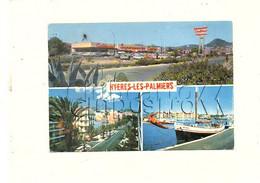 Hyeres (83) : 3 Vues Dont Le Supermarché Casino Pris De Parking En 1972 (animé) GF - Hyeres