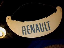 Vieux Papier Visière En Carton Pub ()véhicules ) Renault - Casquettes & Bobs