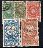 Q364A - YEMEN 1930 ,  Serietta 5 Valori N. 2/5  Usati - Yemen