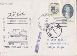 USCGC Polar Sea - WAGB 11 - BYRD Polar Flight 1929 - 1979 - MISSENT To BELIZE - Briefe U. Dokumente