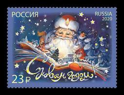 Russia 2020 Mih. 2939II New Year (with Foil) MNH ** - Ongebruikt