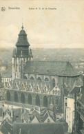 Bruxelles 1914; Église N. D. De La Chapelle (Panorama) - Voyagé. (Nels - Bruxelles) - Monuments