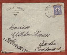 Brief, Tugra Abdul Hanzid, ? Nach Berlin 1904 (2240) - Cartas