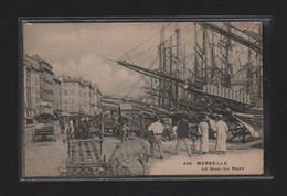 (18/12/20) 13-CPA MARSEILLE - LE QUAI DU PORT - Old Port, Saint Victor, Le Panier