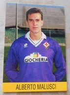 Alberto Malusci  # Fiorentina # Calcio - Cartoncino - Soccer