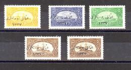 Turkey Navy League Overprints Lot Including Varieties (376) - 1920-21 Anatolia
