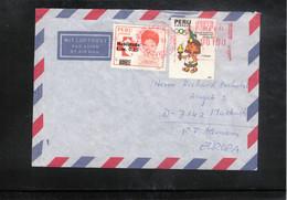 Peru 1991 Interesting Airmail Letter - Perù