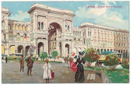 2c.767.  MILANO - Artistica - Galleria Vittorio Emanuele - Ediz. Scrocchi - Milano (Milan)