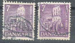 Denmark 1936 Mi#229 Used Two Shades - Gebraucht