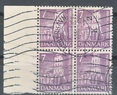 Denmark 1936 Mi#229 Used Piece Of 4 - Gebraucht