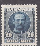 Denmark 1907 Mi#55 Mint Hinged - Unused Stamps