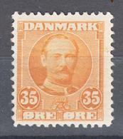 Denmark 1907 Mi#57 Mint Hinged - Unused Stamps