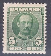 Denmark 1907 Mi#53 Mint Hinged - Unused Stamps