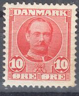 Denmark 1907 Mi#54 Mint Hinged - Unused Stamps