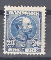 Denmark 1907 Mi#49 Mint Hinged - Unused Stamps