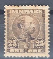 Denmark 1907 Mi#50 Mint Hinged - Unused Stamps