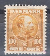 Denmark 1907 Mi#52 Mint Hinged - Unused Stamps