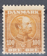 Denmark 1907 Mi#52 Mint Never Hinged - Unused Stamps