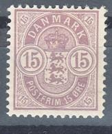 Denmark 1901 Mi#38 Mint Hinged - Ungebraucht