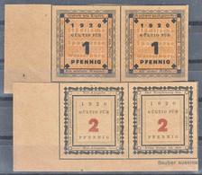 Germany Old City Banknotes, Notgeld 1920/1921 Wasserburg, Printed On Both Sides - [11] Lokale Uitgaven