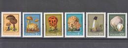 Poland Mushrooms 1980 Mi#2693-2698 Mint Never Hinged - Mushrooms