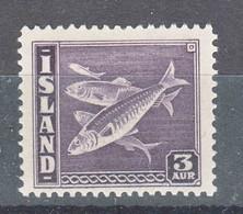 Iceland Island Ijsland 1939 Fish Mi#209 A Mint Never Hinged, Perforation 14 - Ungebraucht