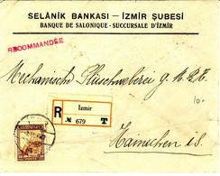 Turkey Registered Cover (401) - Briefe U. Dokumente