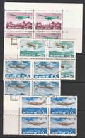 North Korea 1966 Airplanes Mi#727-730 Used Pieces Of 4 - Korea (Noord)