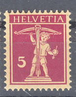 Switzerland 1925 Mi#200 Mint Never Hinged - Unused Stamps