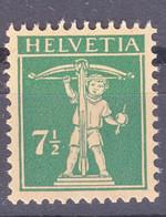 Switzerland 1925 Mi#202 Mint Never Hinged - Unused Stamps