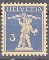 Switzerland 1925 Mi#199 Mint Never Hinged - Unused Stamps