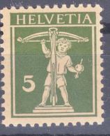 Switzerland 1925 Mi#201 Mint Never Hinged - Unused Stamps