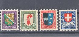 Switzerland 1926 Pro Juventute Mi#218-221 Mint Never Hinged - Nuevos