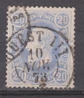 N° 31 DC. Ouest III  Ambulant 1873 - 1869-1883 Leopold II