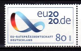 2020 Germany EU Presidency Of Germany MNH** MiNr. 3554 CEPT Hang On Issue, Falg European Union - Ongebruikt