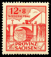 SBZ PROV. SACHSEN Nr 88Aa Postfrisch X6595BA - Zona Sovietica