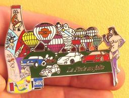 Pin's GRAND PINS DE 6 Cm MULTI THEME,FERRARI,PORCHE,PIN-UP,2CV,MICHELIN,COCA COLA, ETC. - Otros