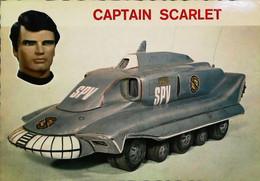 ► Carte Postale Publicité -  Jouet Automobile Dinky Toys Gerry Anderson Captain Scarlet Spectrum Pursuit Vehicle - Pubblicitari
