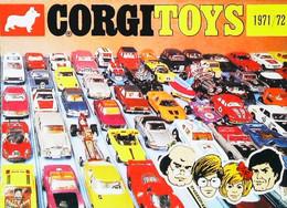 ► Carte Postale Publicité - CORGI Toys 1971/1972 - Batmobile  Aston Buggy Ferrari .......  - Reproduction - Pubblicitari