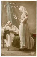 1914-18.infirmière Croix-Rouge. Âmes Françaises ! - Croix-Rouge