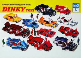 ► Carte Postale Publicité - Jouet Automobile Toy Car DINKY Toys 1950s - Reproduction - Pubblicitari