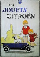 ► Carte Postale Publicité - Voiture Jouet Citroen 1922 - Reproduction - Pubblicitari