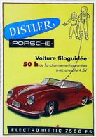 ► Carte Postale Publicité - Voiture PORSCHE Distler Filoguidée - Electromatic Toy Car   - Reproduction - Pubblicitari