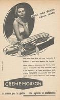 # CREME MOUSON 1950s Advert Pubblicità Publicitè Reklame Moisturizing Cream Creme Hydratante Protector - Non Classificati