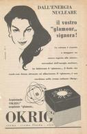 # CREME OKRIG 1950s Advert Pubblicità Publicitè Reklame Moisturizing Cream Creme Hydratante Protector - Non Classificati