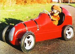 ► Carte Postale Publicité - Voiture Pathfinder  Pedal Teddy Bear Car 1949 - Voiture à Pédales   - Reproduction - Pubblicitari