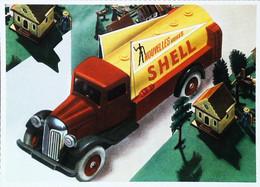 ► Carte Postale Publicité  Postcard Advertising - Jouet  Camion Citerne SHELL Vintage - Pubblicitari