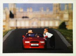 ► Carte Postale  Publicité  Postcard Advertising - Voiture Enfant - Pedal Or Motor Chil Car ASTON MARTIN LAGONDA LTD - - Pubblicitari