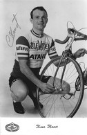 CATE CYCLISME KEEST HAAST SIGNEE TEAM TELEVIZIER 1967 - Cyclisme