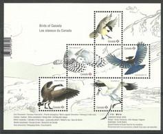 Canada 2018 Mi Bl 279 MNH ( ZS1 CNDbl279 ) - Eulenvögel